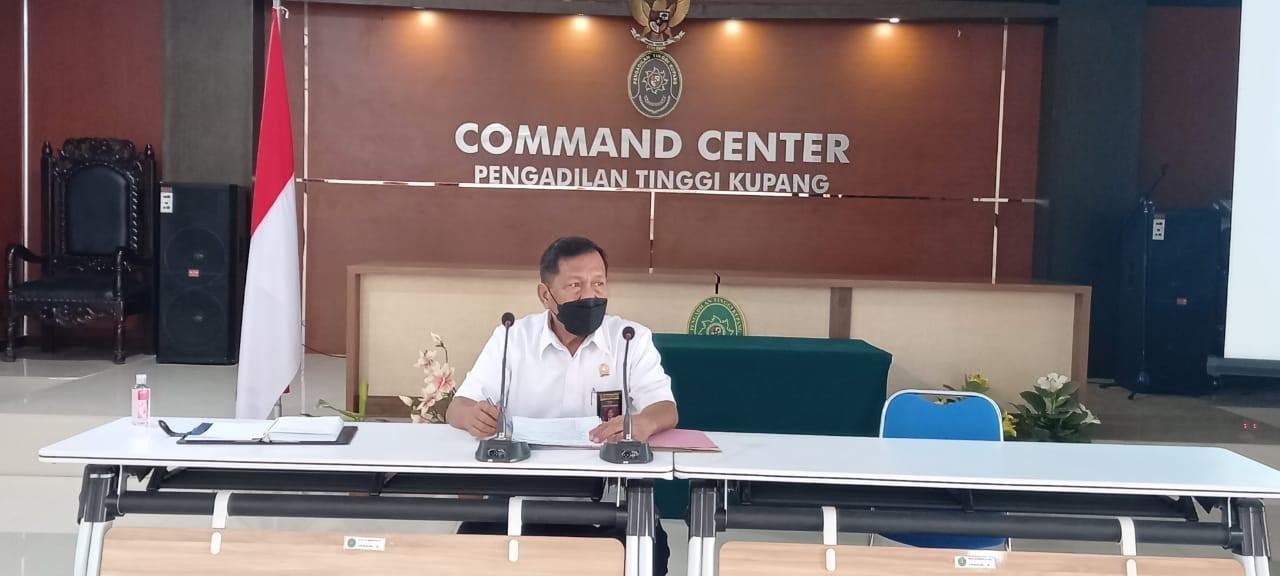 Rapat Pembangunan Zona Integritas pada Pengadilan Tinggi Kupang