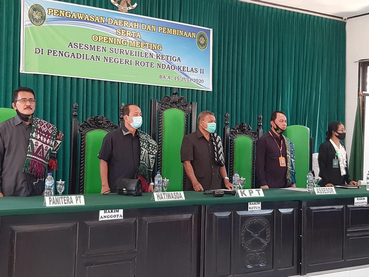 Pengawasan Daerah di Pengadilan Negeri Rote Ndao