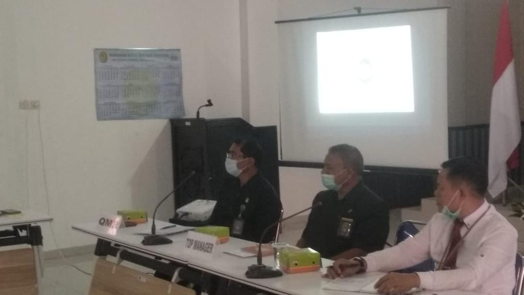 Rapat Komite Keputusan Akreditasi (KEKA) Pengadilan Tinggi Kupang Tahun 2020