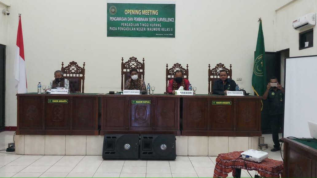 Pengawasan Daerah pada Pengadilan Negeri Maumere dan Pengadilan Negeri Larantuka